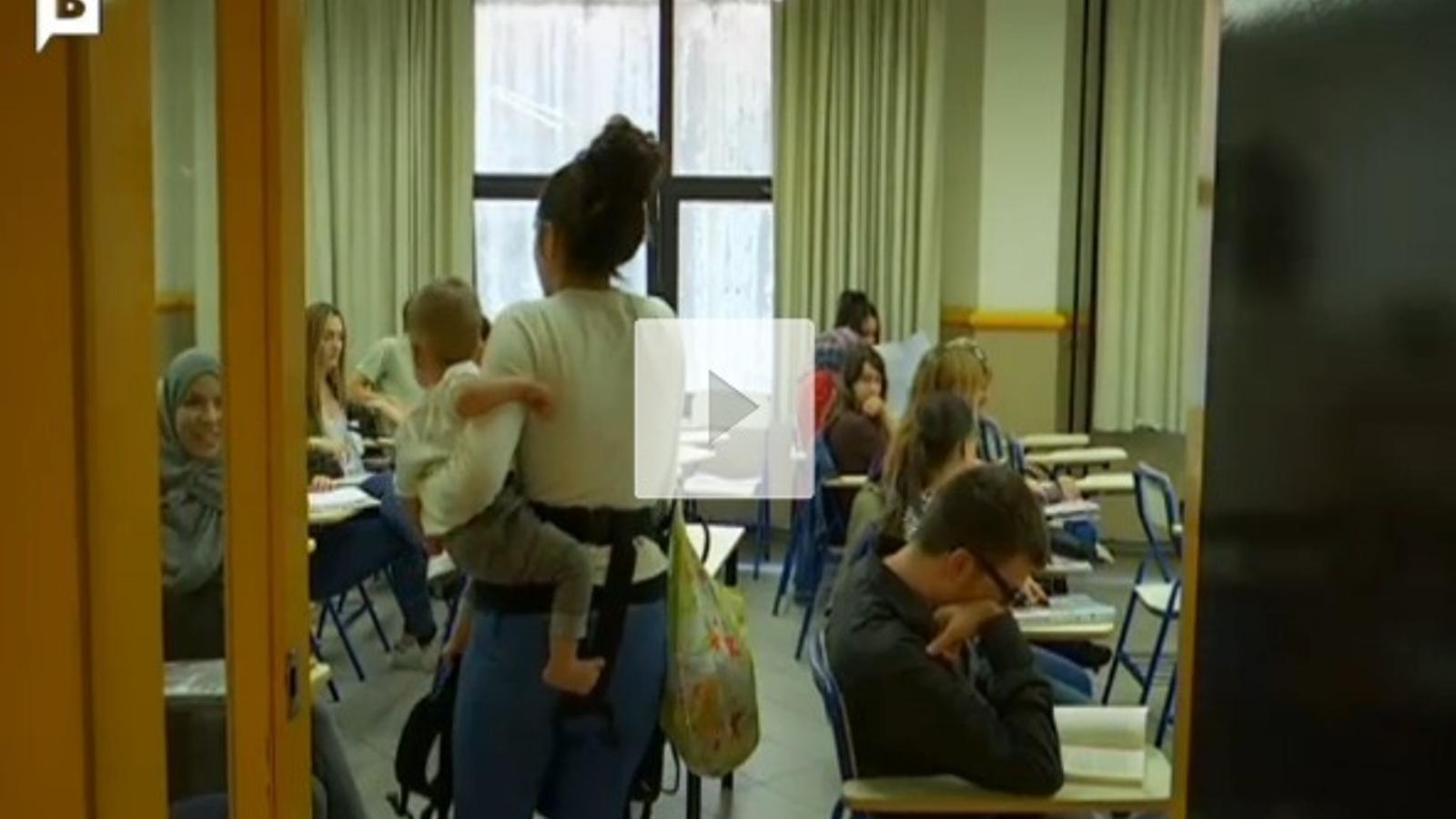 La Universitat de Barcelona demana a una alumna que no porti el nadó a classe