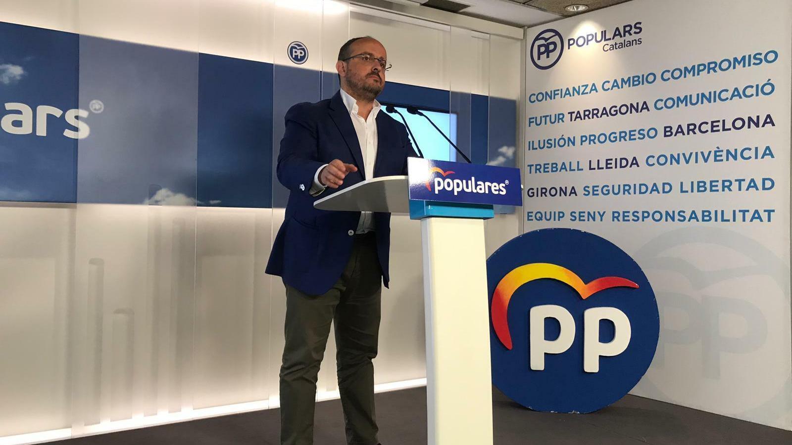 """El PP impulsarà un """"llibre blanc"""" per recuperar la presència de l'Estat a Catalunya"""