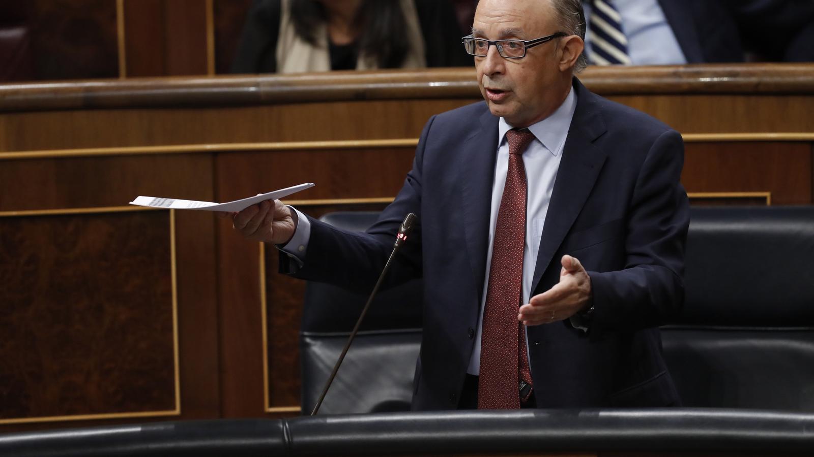 L'Estat congela 100 milions del Govern en un compte al Banc d'Espanya