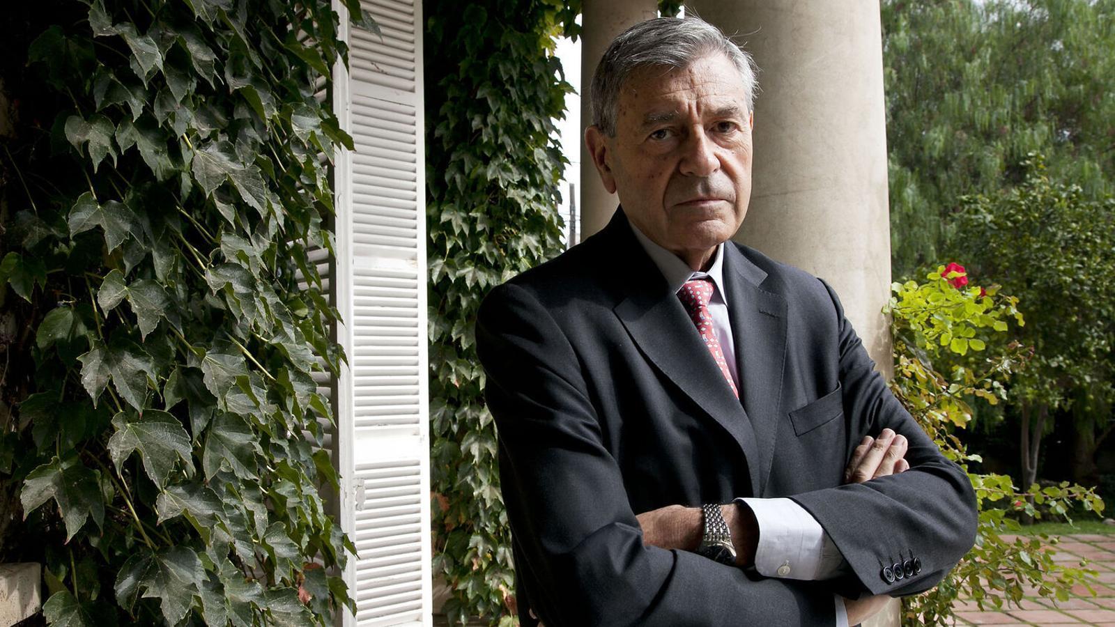 Pedro Nueno, a la seu barcelonina de l'Iese.