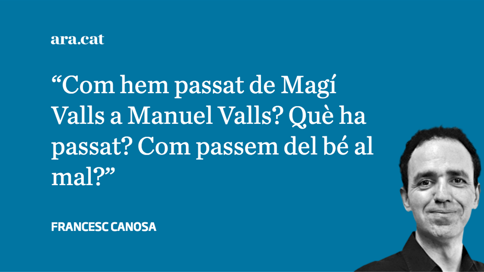 Valls, el Pare Noel 155 de PSC, PP i Cs