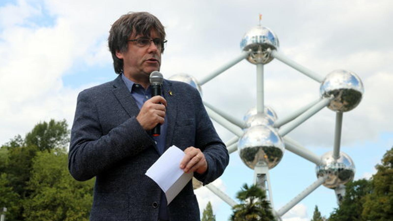 Puigdemont demana una Diada amb unitat més enllà dels partits polítics