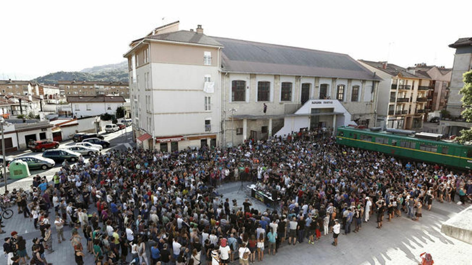 L'independentisme es torna a mobilitzar per assistir a la manifestació de diumenge a Altsasu