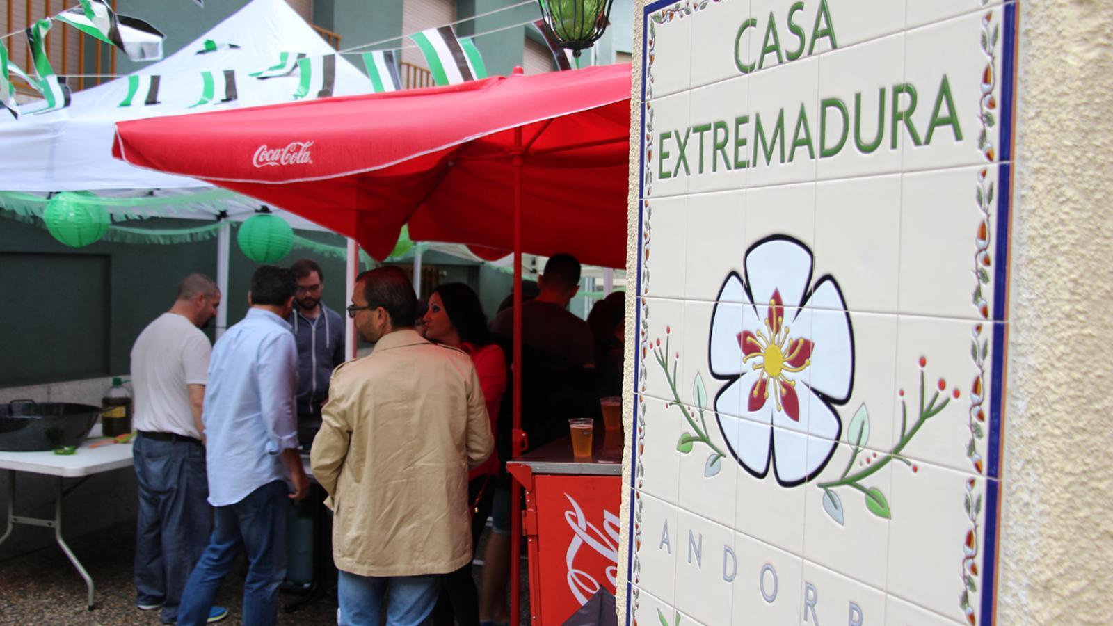 La celebració del Dia d'Extremadura a Andorra el 2017. / M. M. (ANA)