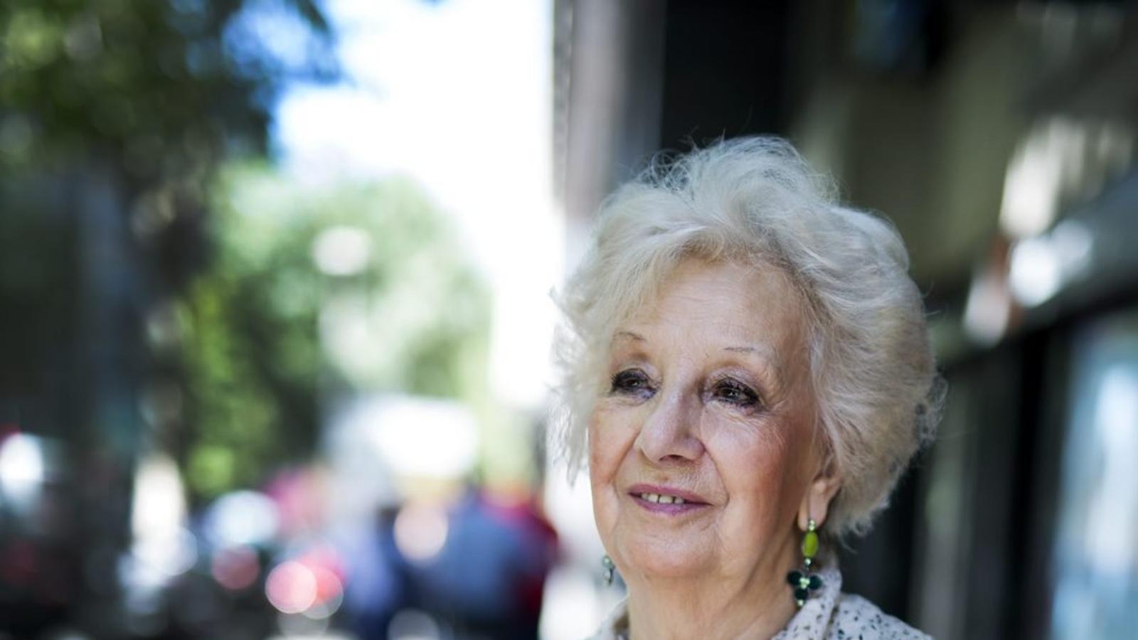 """Estela de Carlotto: """"30.000 desapareguts i 15.000 morts argentins volen justícia"""""""