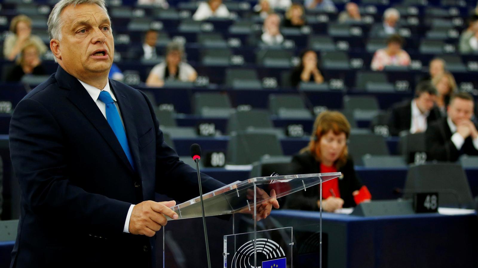 El Parlament Europeu demana sancionar l'Hongria d'Orbán