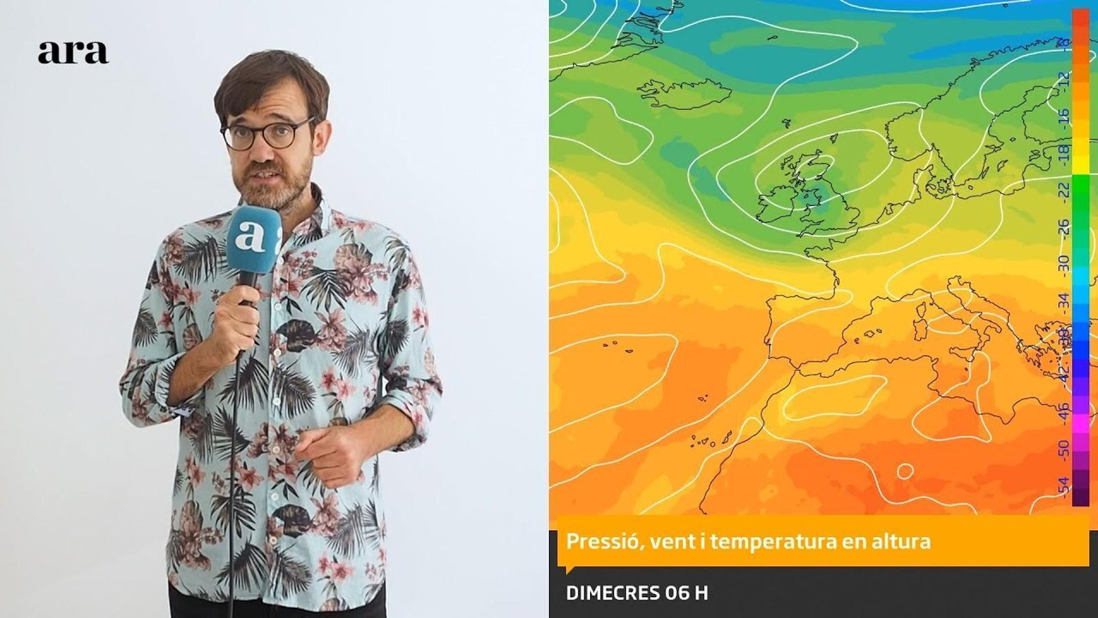 La méteo: la calorada tocarà sostre divendres i s'acabarà diumenge