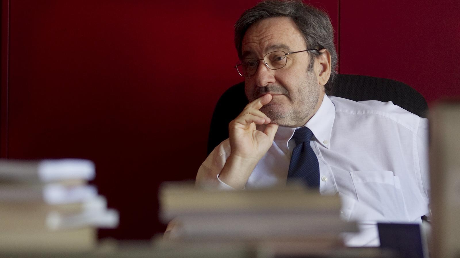 Narcís Serra, expresident de Caixa Catalunya.