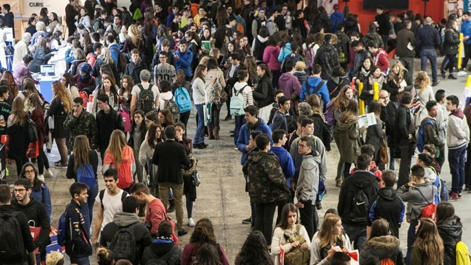 Una imatge del Saló de l'Ensenyament de Barcelona / UDA