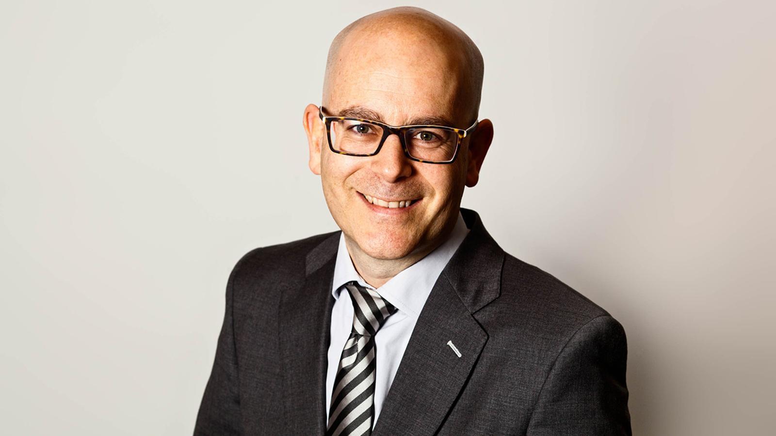 Sergi Martín, nou director de l'àrea de Negoci de Vall Banc