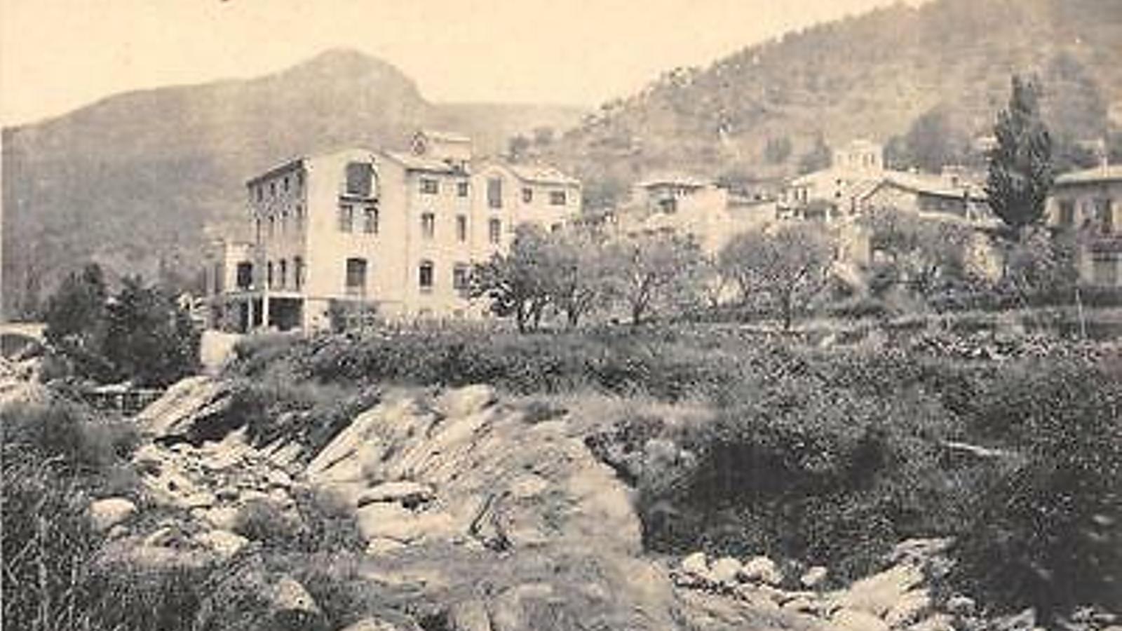L'Hotel Congost en una imatge d'arxiu.