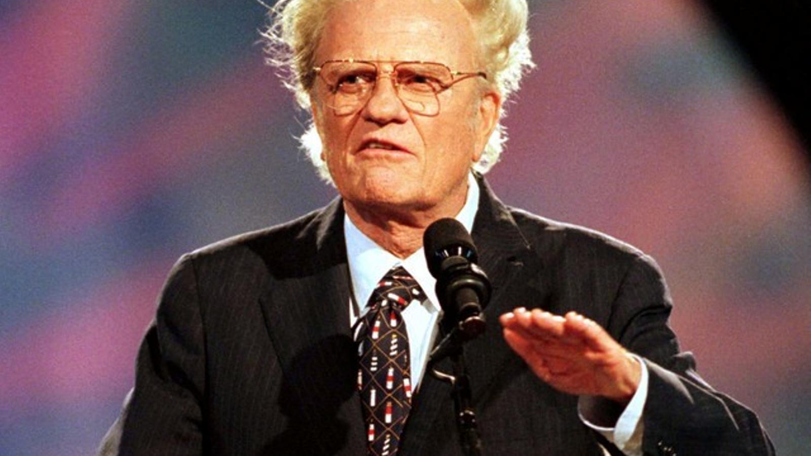 Mor l'influent televangelista dels EUA Billy Graham