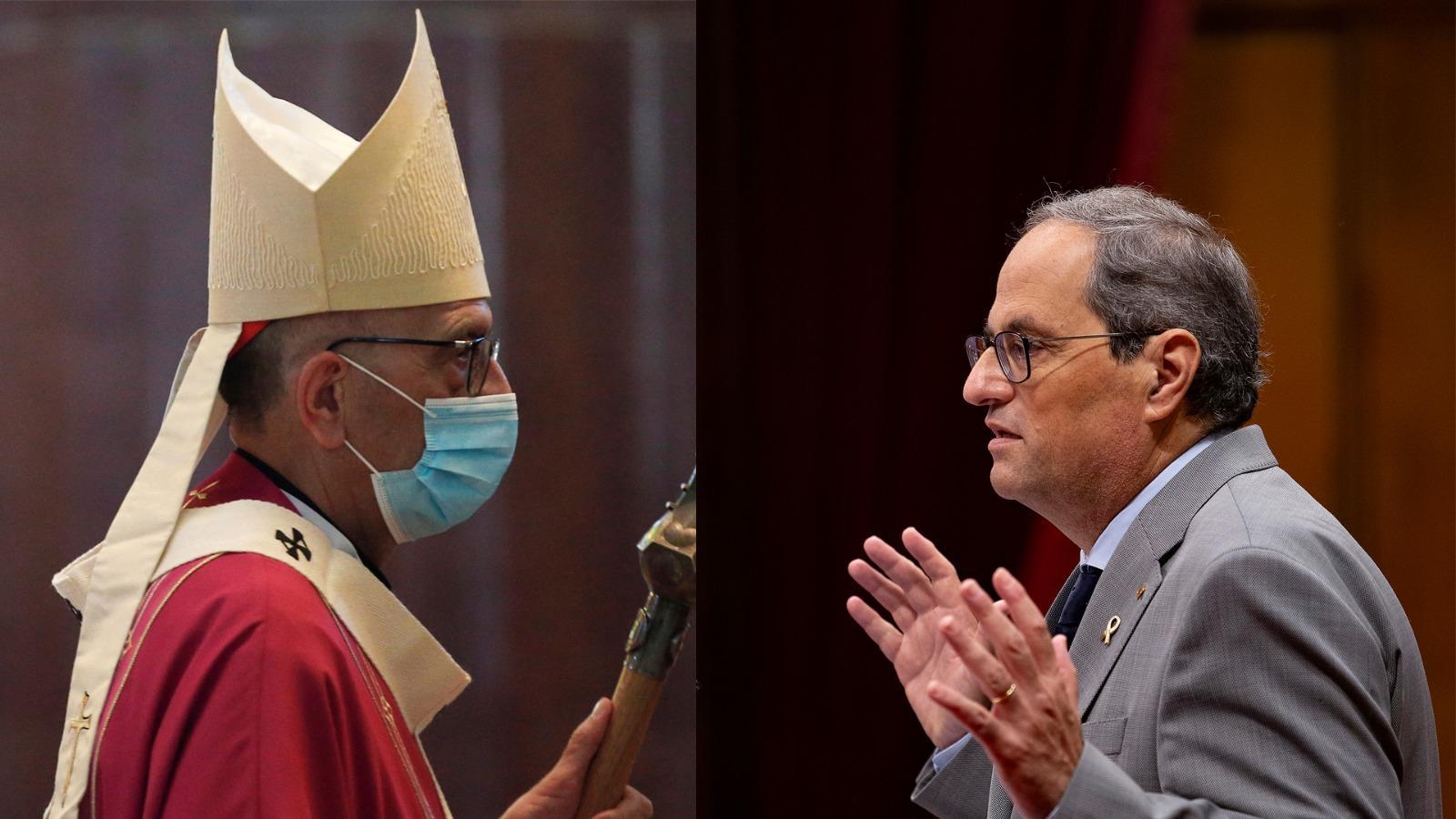 L'anàlisi d'Antoni Bassas: 'El president Torra i el cardenal Omella'