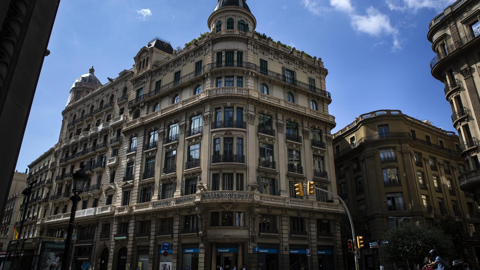 Edifici Banc de Sabadell de Via Laietana
