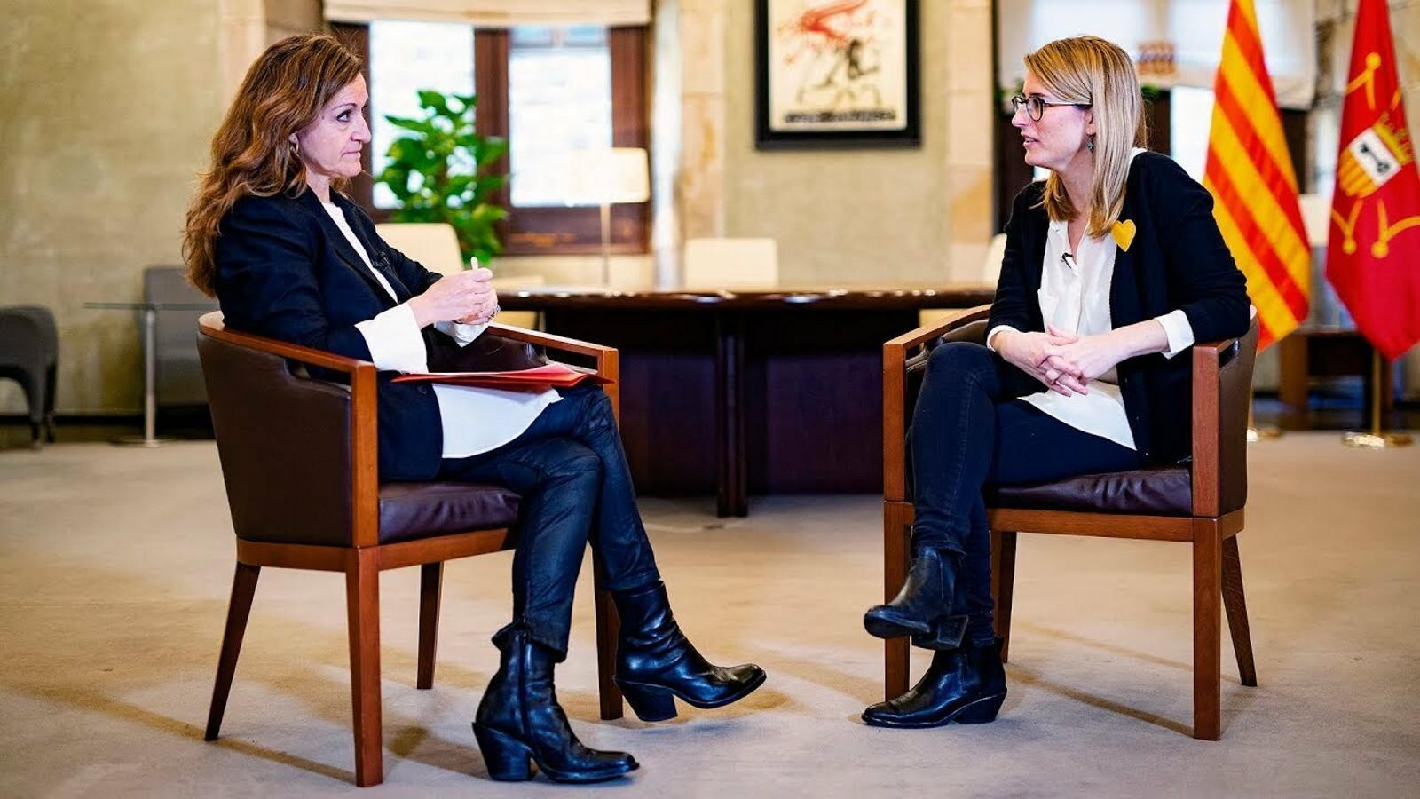 Esther Vera entrevista Elsa Artadi