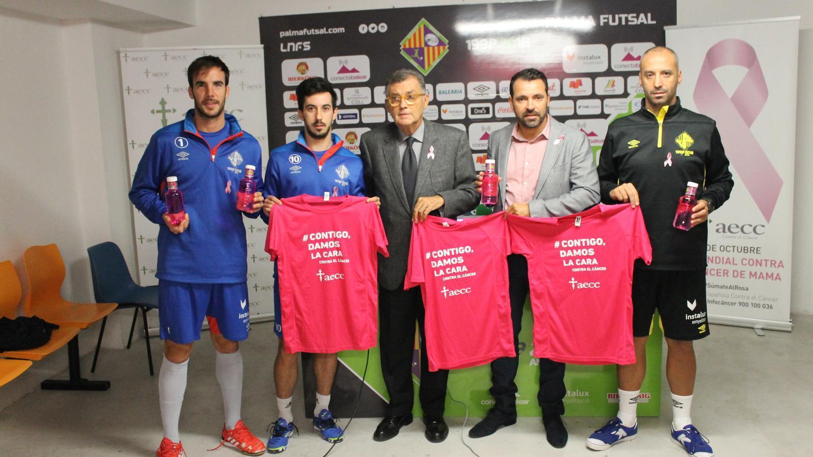 El Palma Futsal es juga aquest divendres el lideratge de la lliga contra el Valdepeñas
