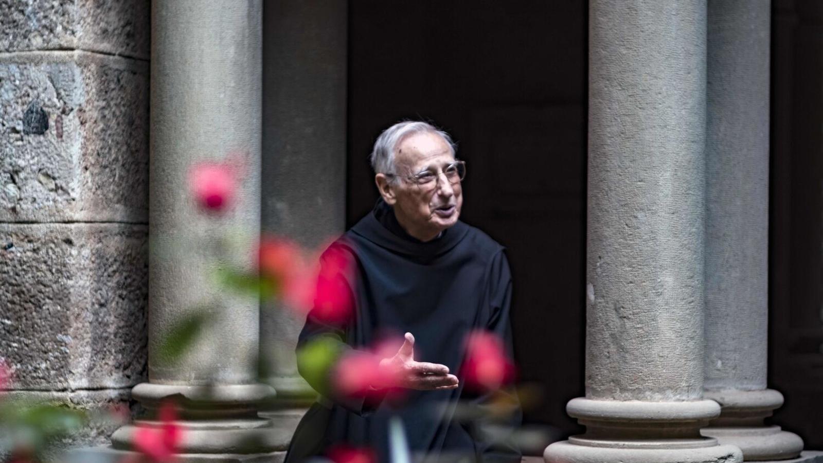 Mor Hilari Raguer, historiador i monjo de Montserrat