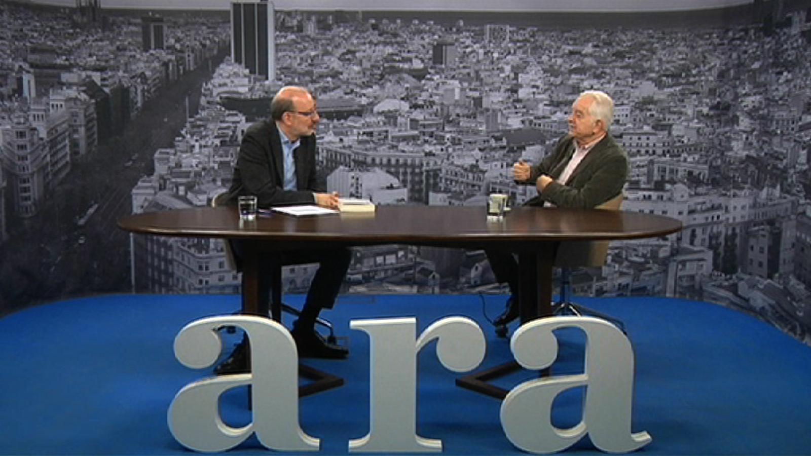 Entrevista d'Antoni Bassas a Borja de Riquer