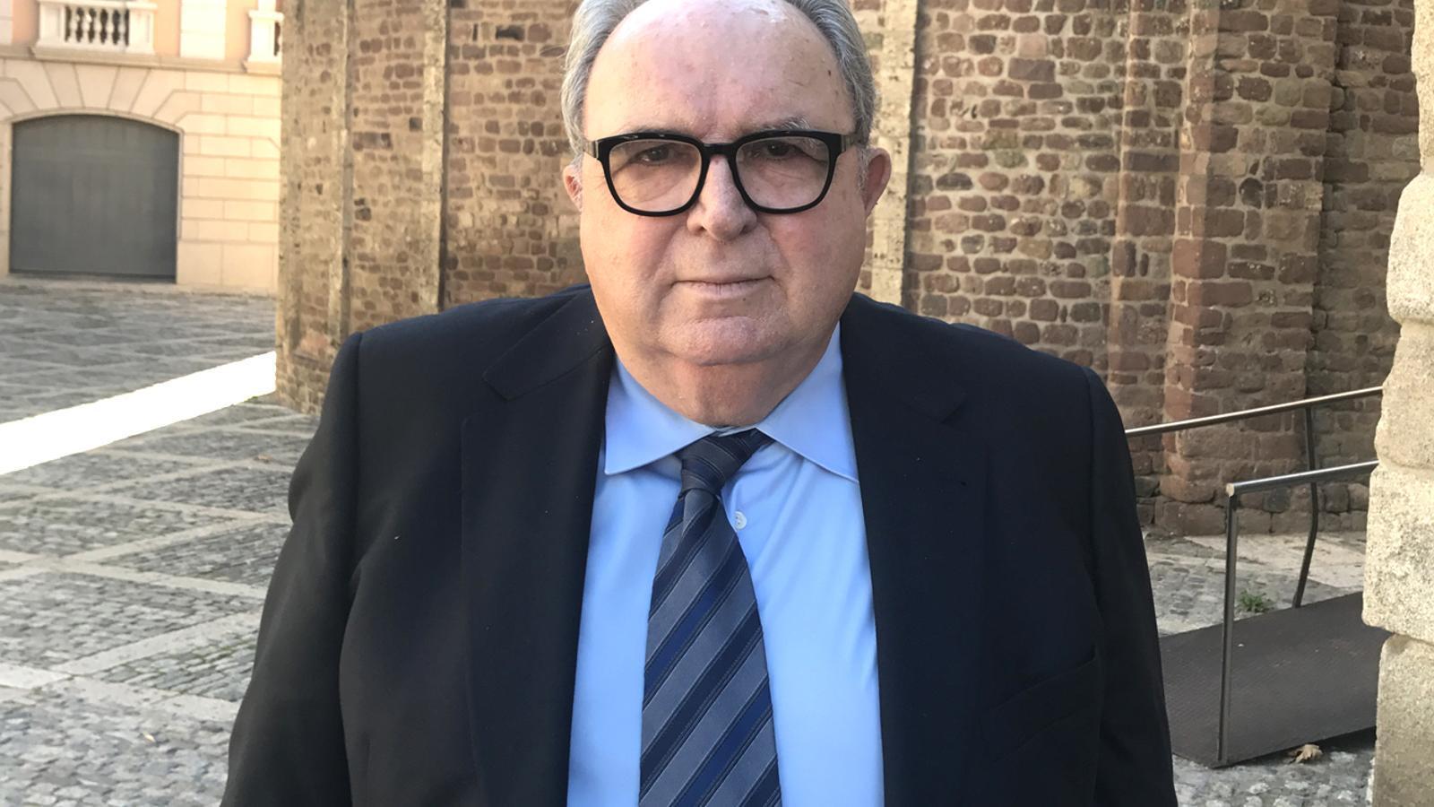 El jurista català Josep-Delfí Guàrdia, nou magistrat del TC / BISBAT D'URGELL