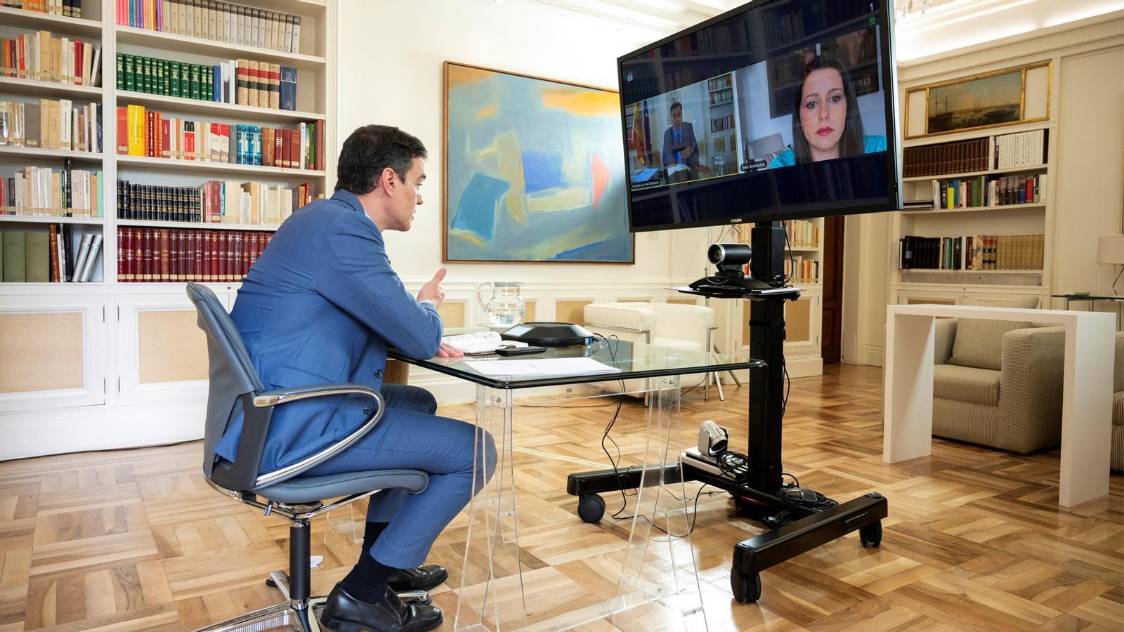 Arrimadas pacta amb Sánchez la pròrroga de l'estat d'alarma i Barcelona podria no entrar a la fase 1 dilluns que ve: les claus del dia, amb Antoni Bassas (06/05/2020)