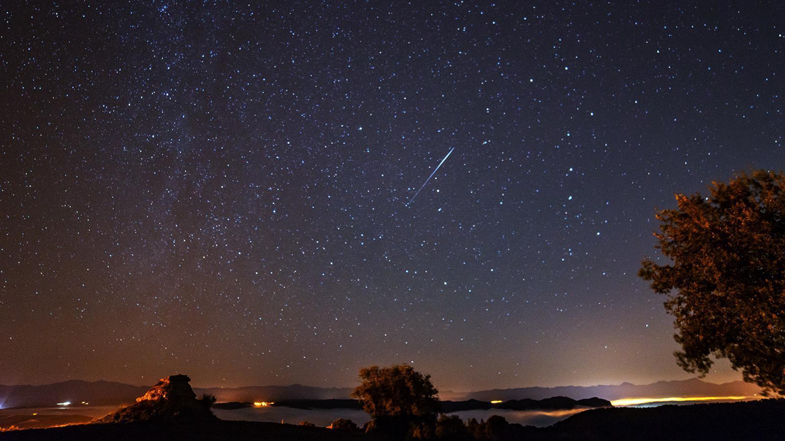 Els Gemínids: la pluja d'estels per als que no són fredolics