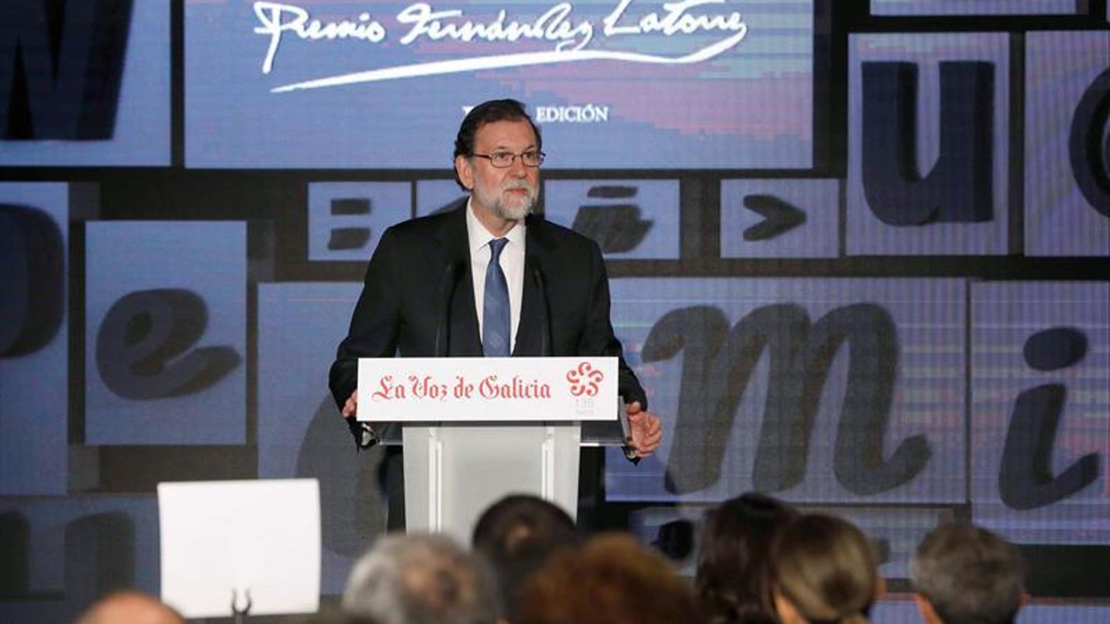 Rajoy, aquest matí