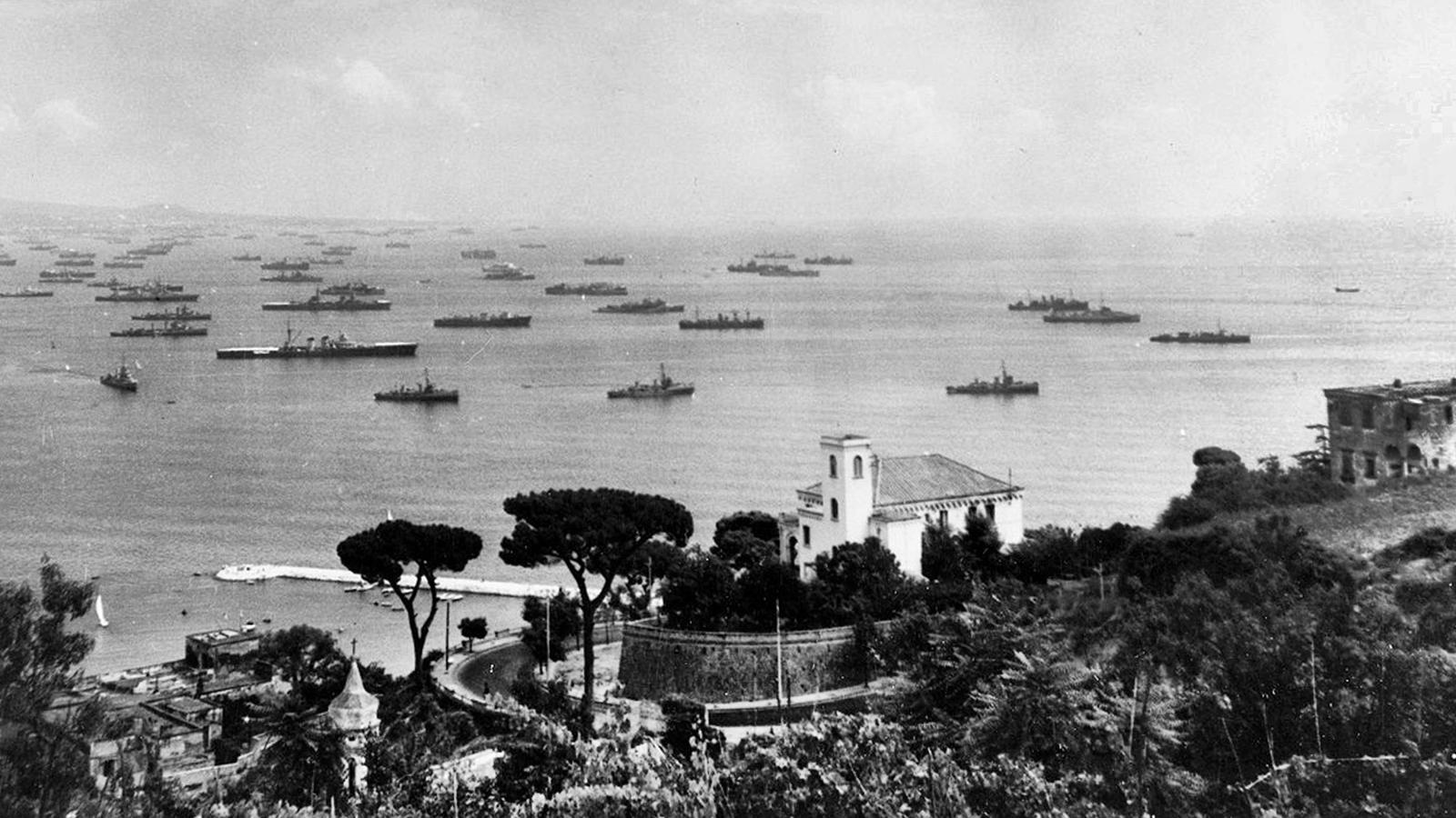 Desembarcament aliat al sud-est francès dins l'operació Dragoon.