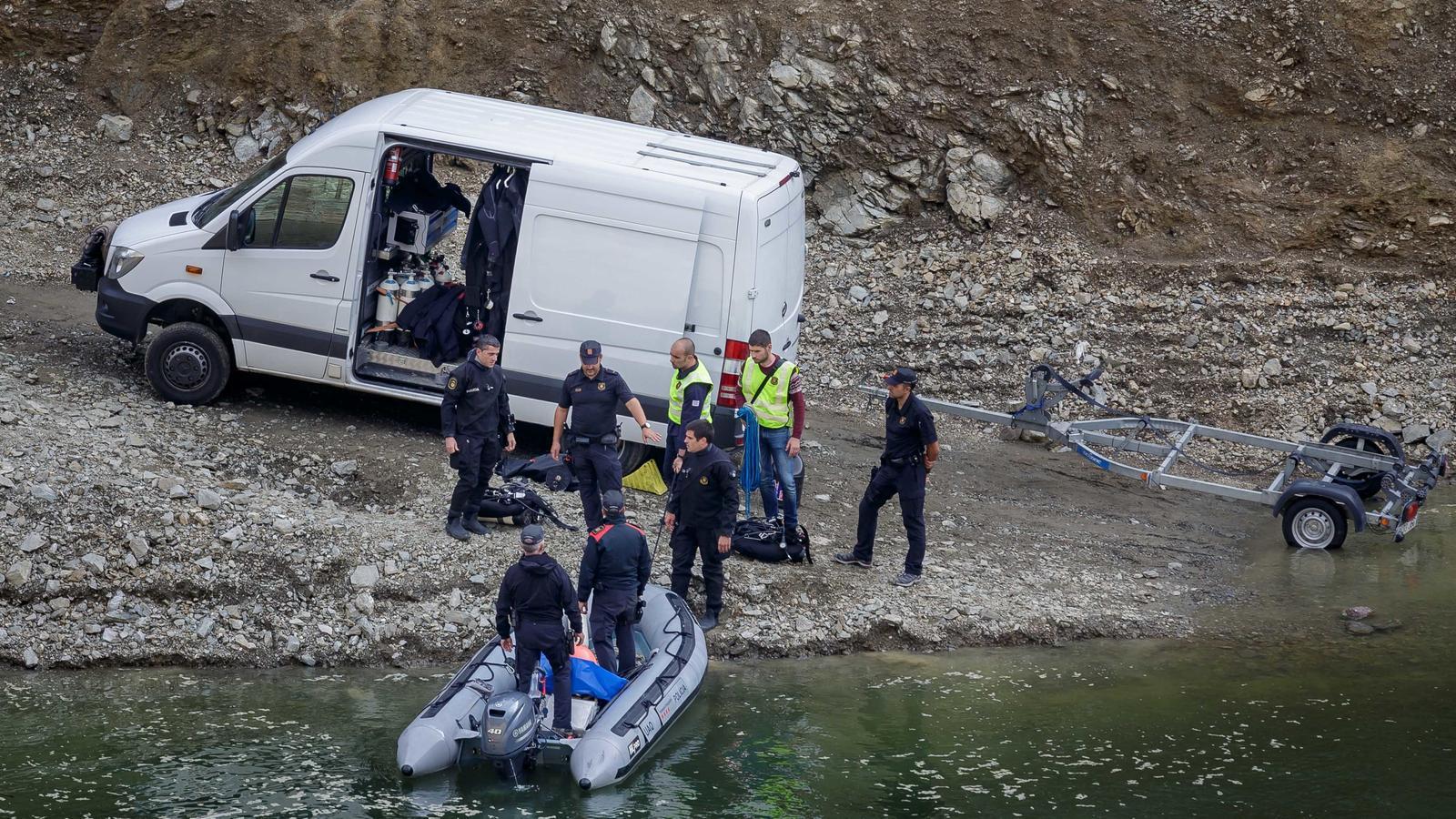 La noia assassinada a Susqueda va morir d'un tret al cap
