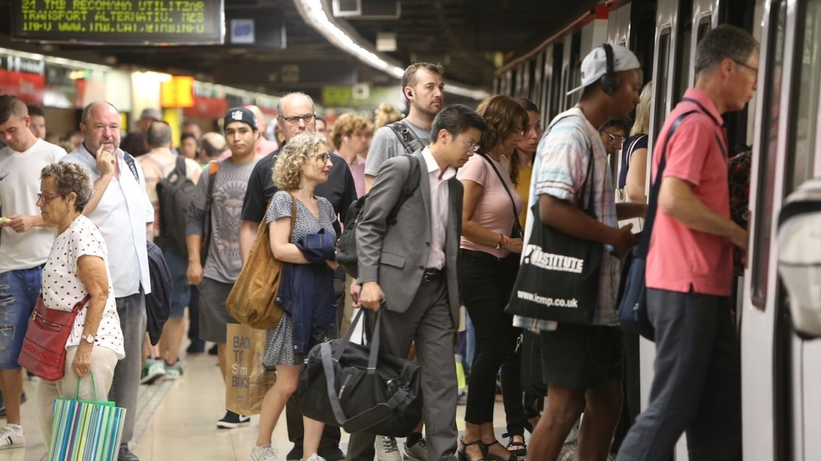 """""""Els dilluns arribem a la feina irritats per culpa de la vaga del metro"""""""