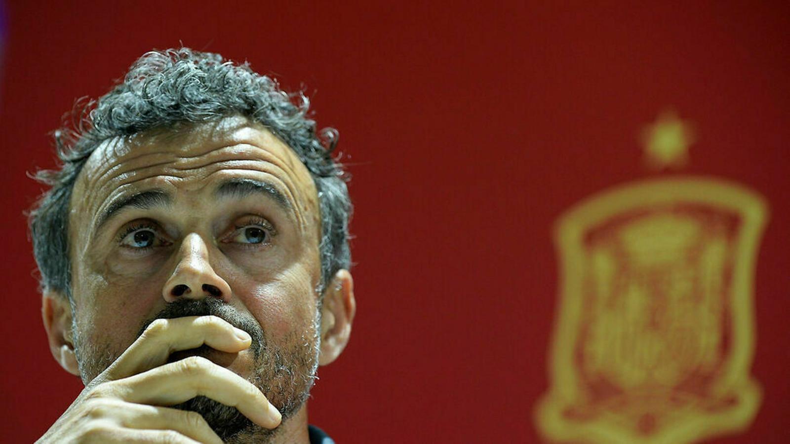 Luis Enrique, principal candidat per dirigir Espanya a l'Eurocopa
