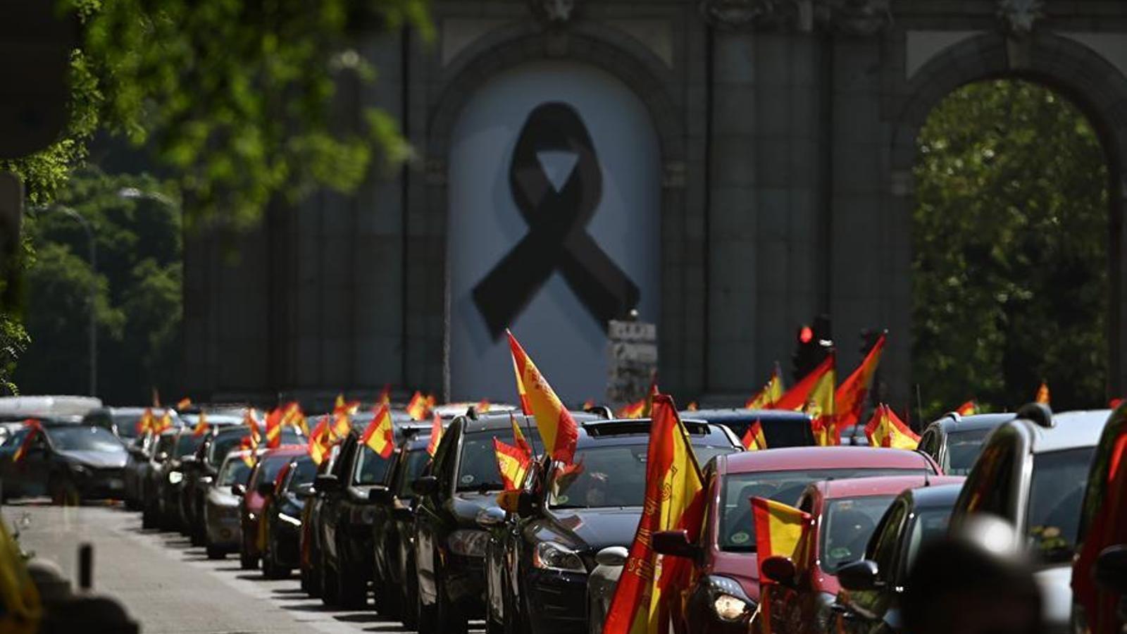 Vox col·lapsa el centre de Madrid