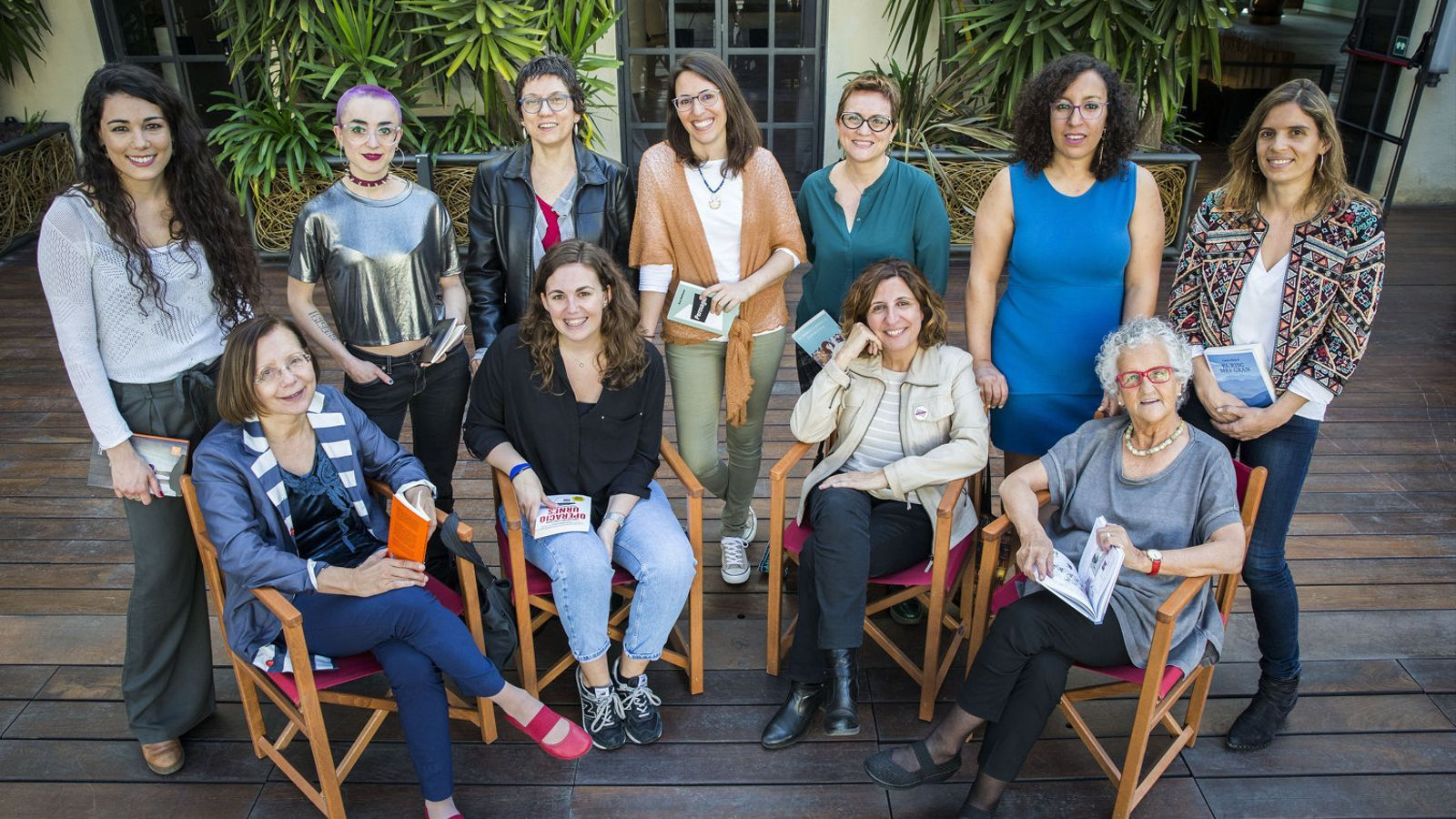 Sant Jordi  Es conjuga  en femení