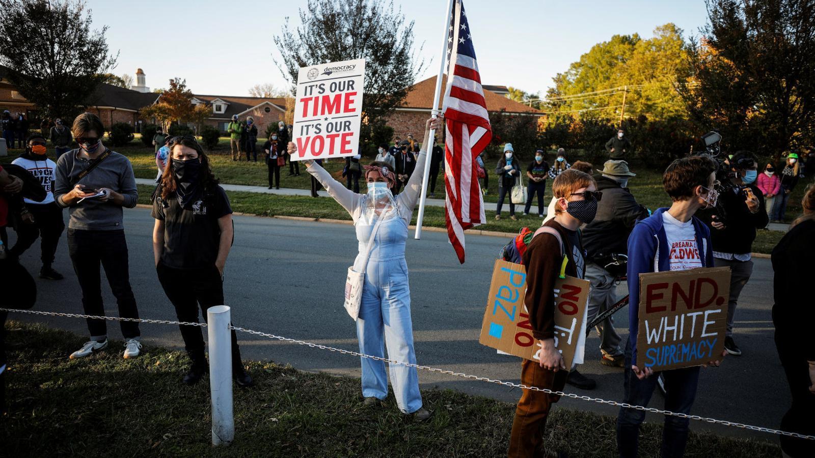 """Trump dice que irá al Supremo para que se pare el recuento de votos: """"Hemos ganado las elecciones"""""""