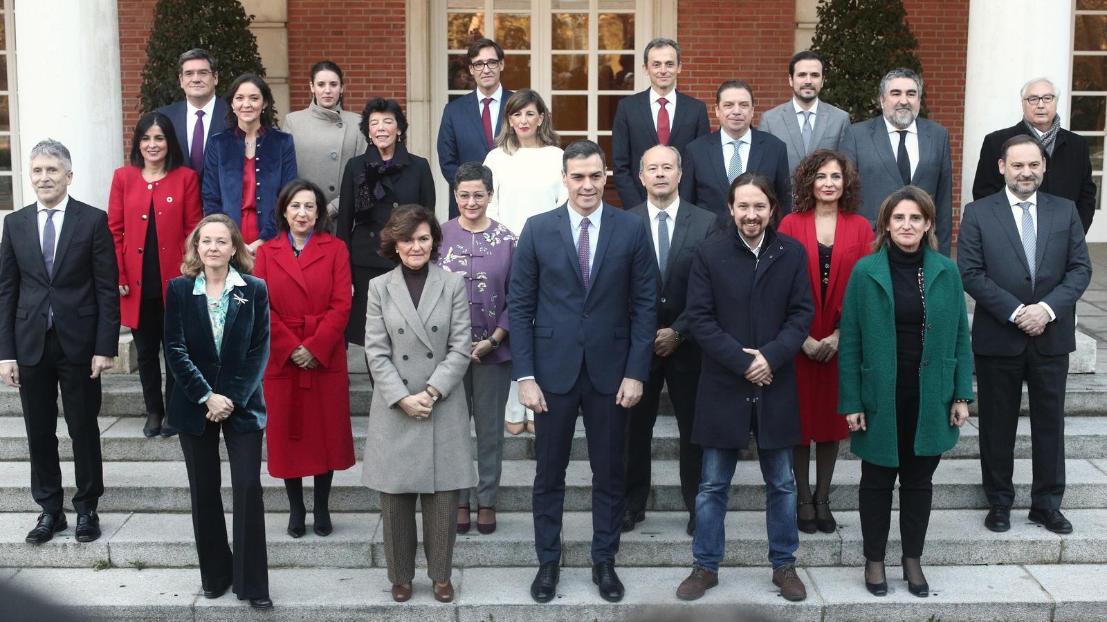 El govern de coalició reforça el PSOE i Unides Podem, segons el CIS