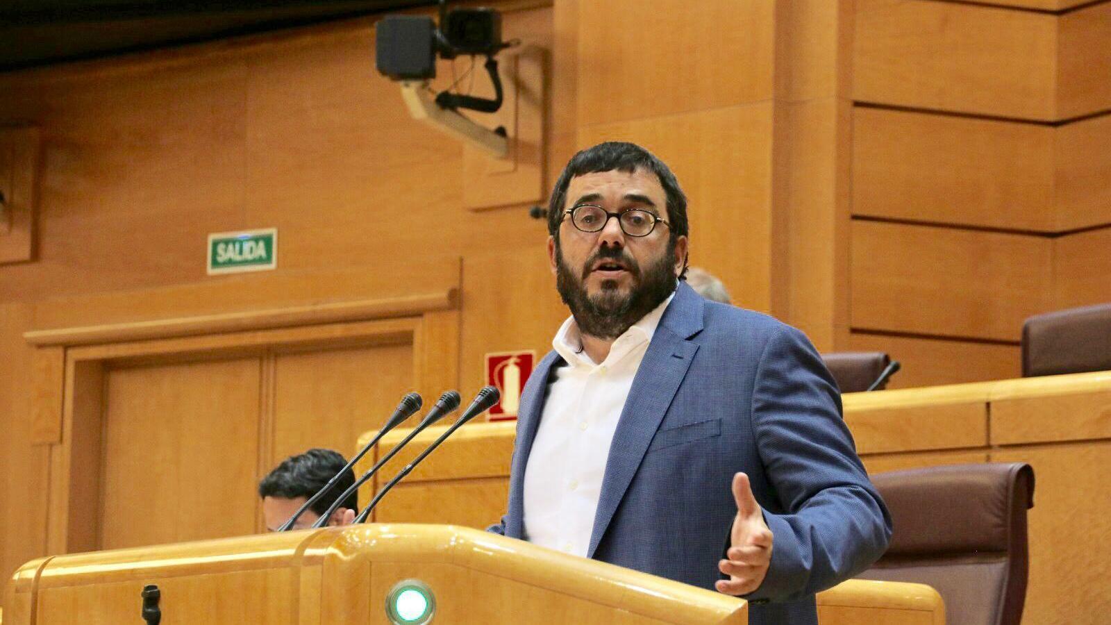 El senador de MÉS per Mallorca, Vicenç Vidal