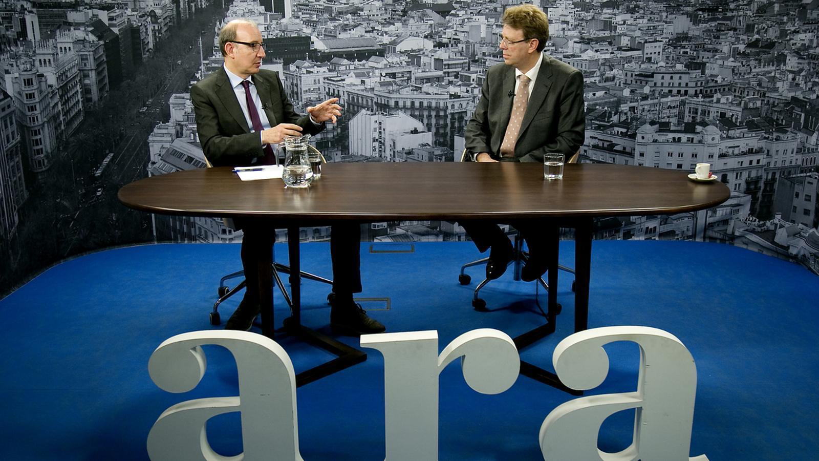 Entrevista d'Antoni Bassas a Ferran Bel, alcalde de Tortosa