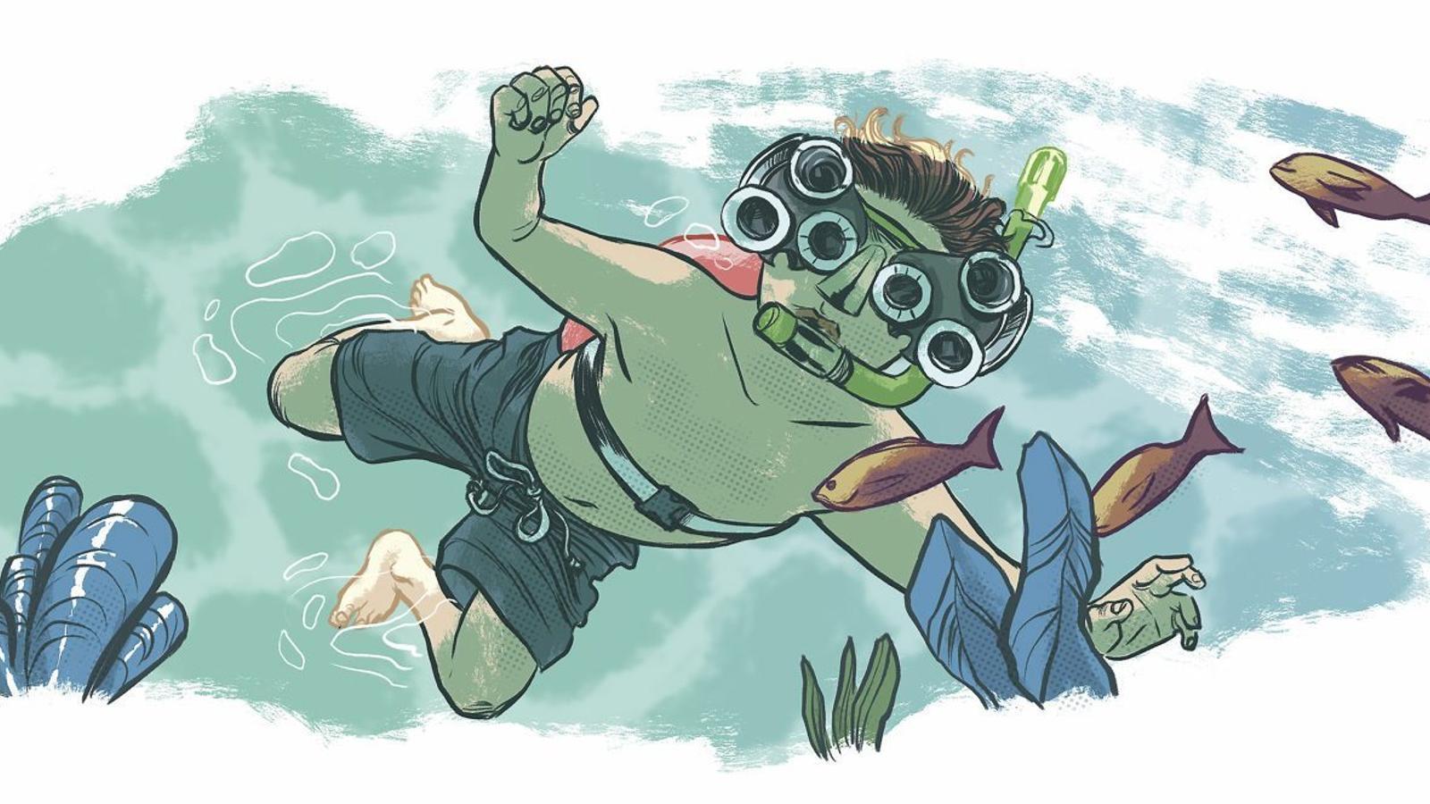 La Burbujita que va ensenyar a nedar a diverses generacions es reinventa