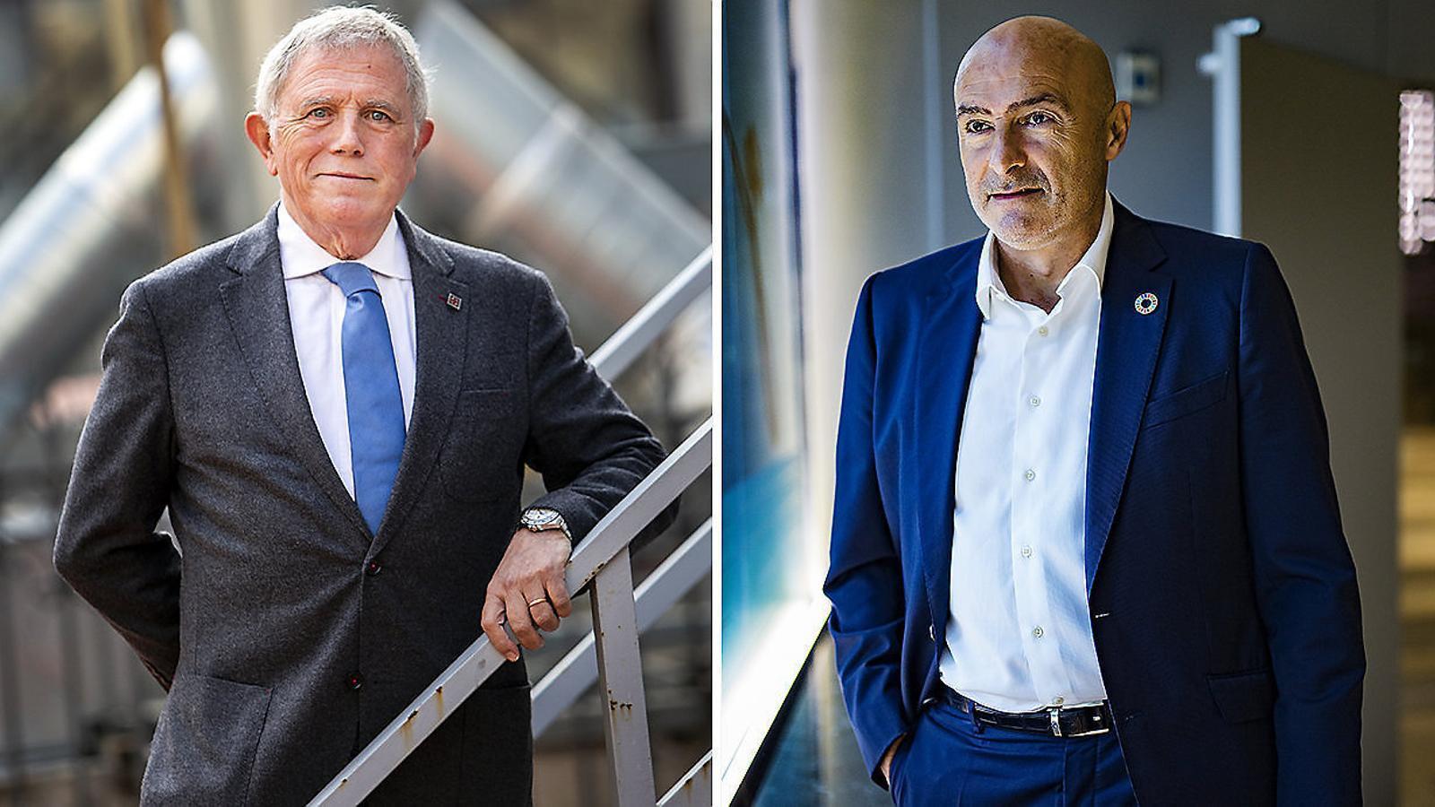Crous i Torres oficialitzen la fusió de les seves candidatures a la Cambra