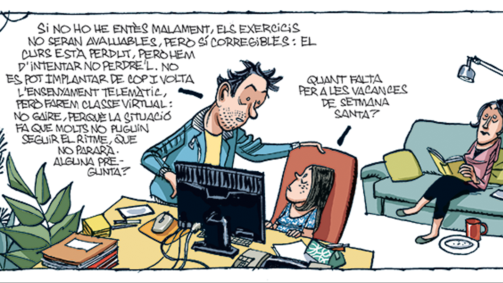 'A la contra', per Manel Fontdevila 01/04/2020
