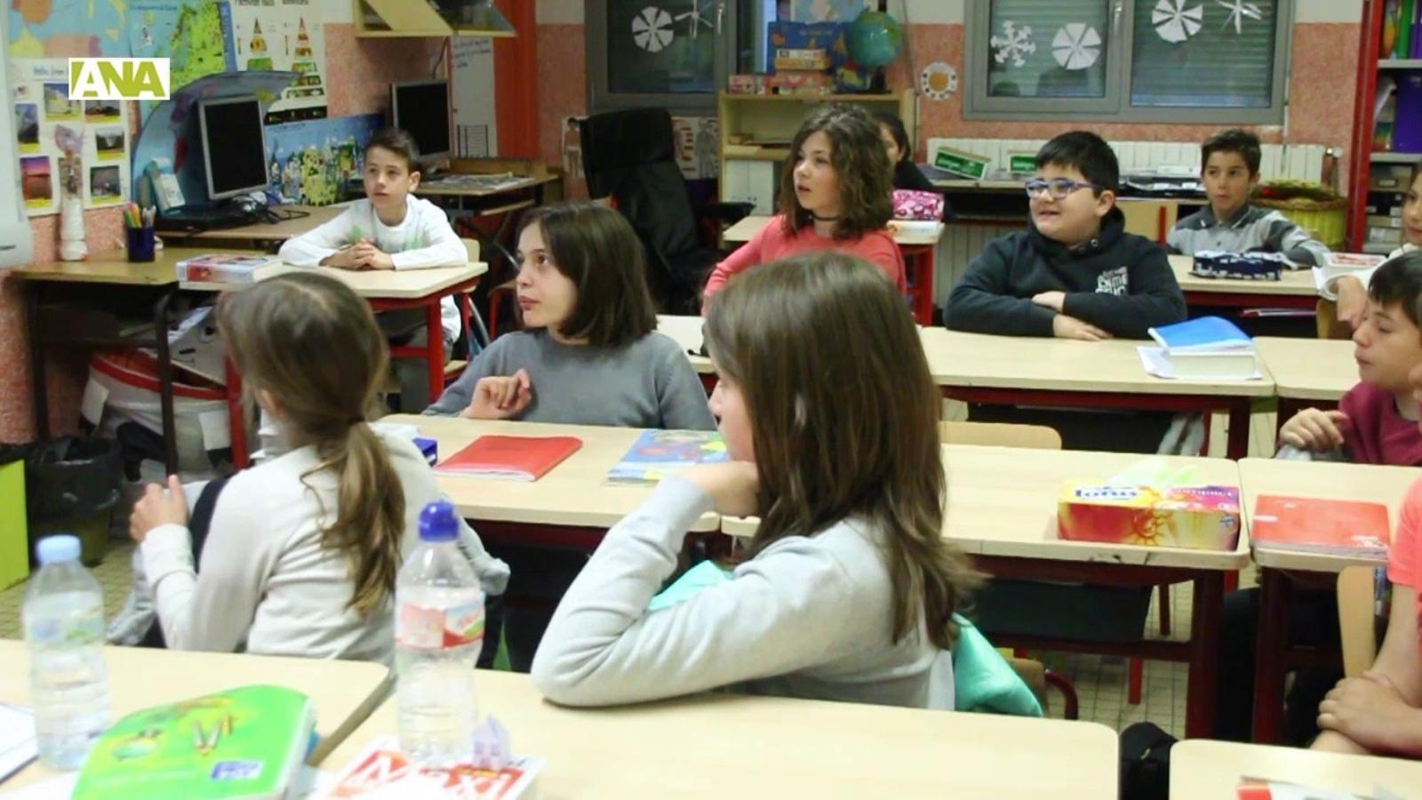 Una de les xerrades de FEDA a les escoles
