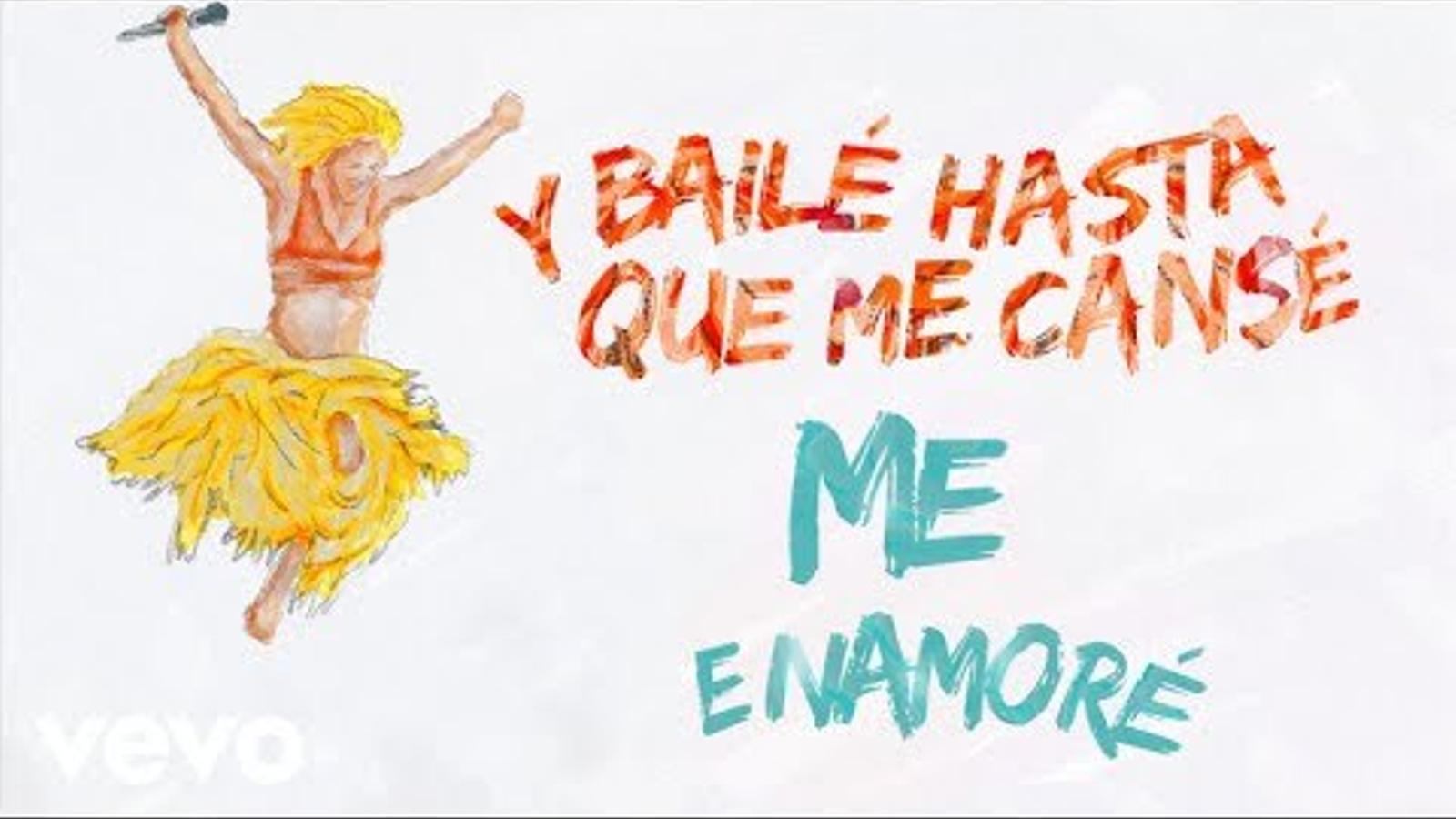 Shakira dedica el darrer senzill, 'Me enamoré', a Gerard Piqué