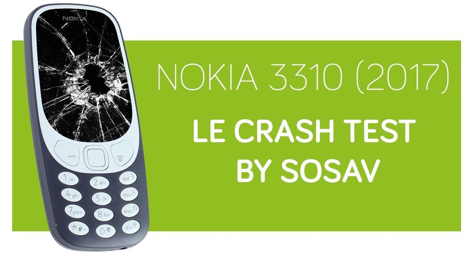 Prova de resistència del nou model Nokia 3310