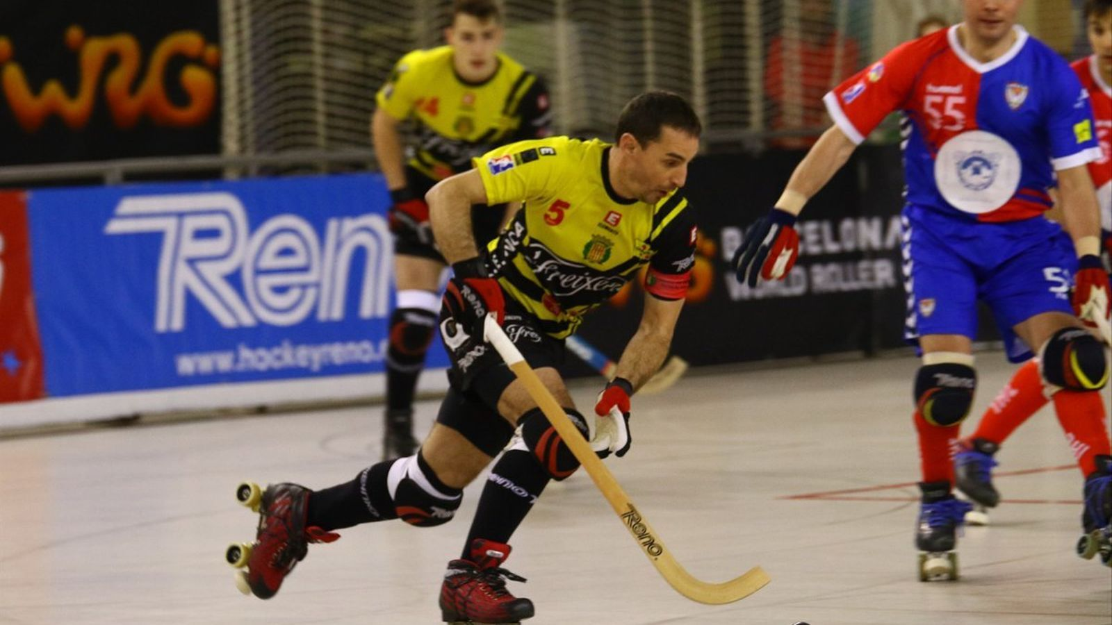 L'Igualada Rigat, primer semifinalista de la Copa del Rei d'hoquei patins (0-3)