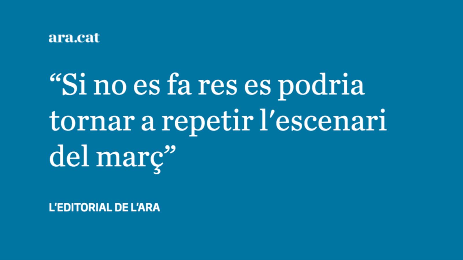 El confinament de Lleida i el Baix Segre