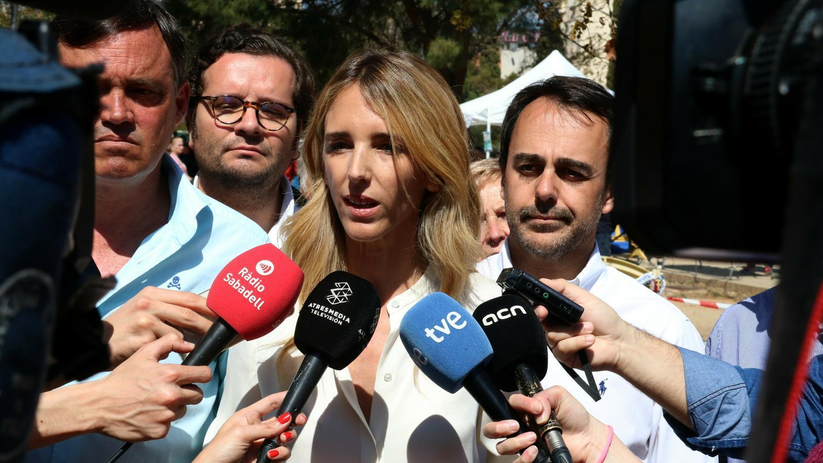 """Cayetana de Toledo (PP) titlla de """"totalitari"""" a Torra i amenaça amb tancar TV3"""