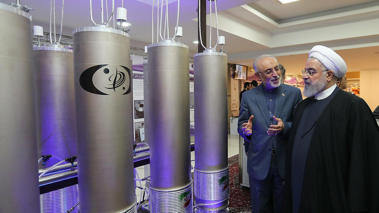 L'Iran es retira de part de l'acord nuclear per les sancions dels EUA