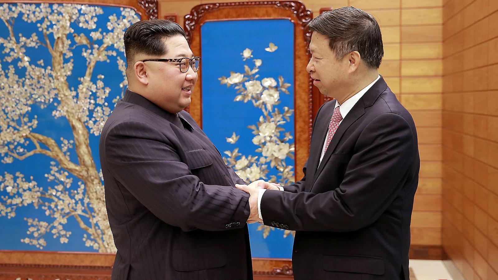 Corea del Sud negocia amb  el Nord un acord de pau