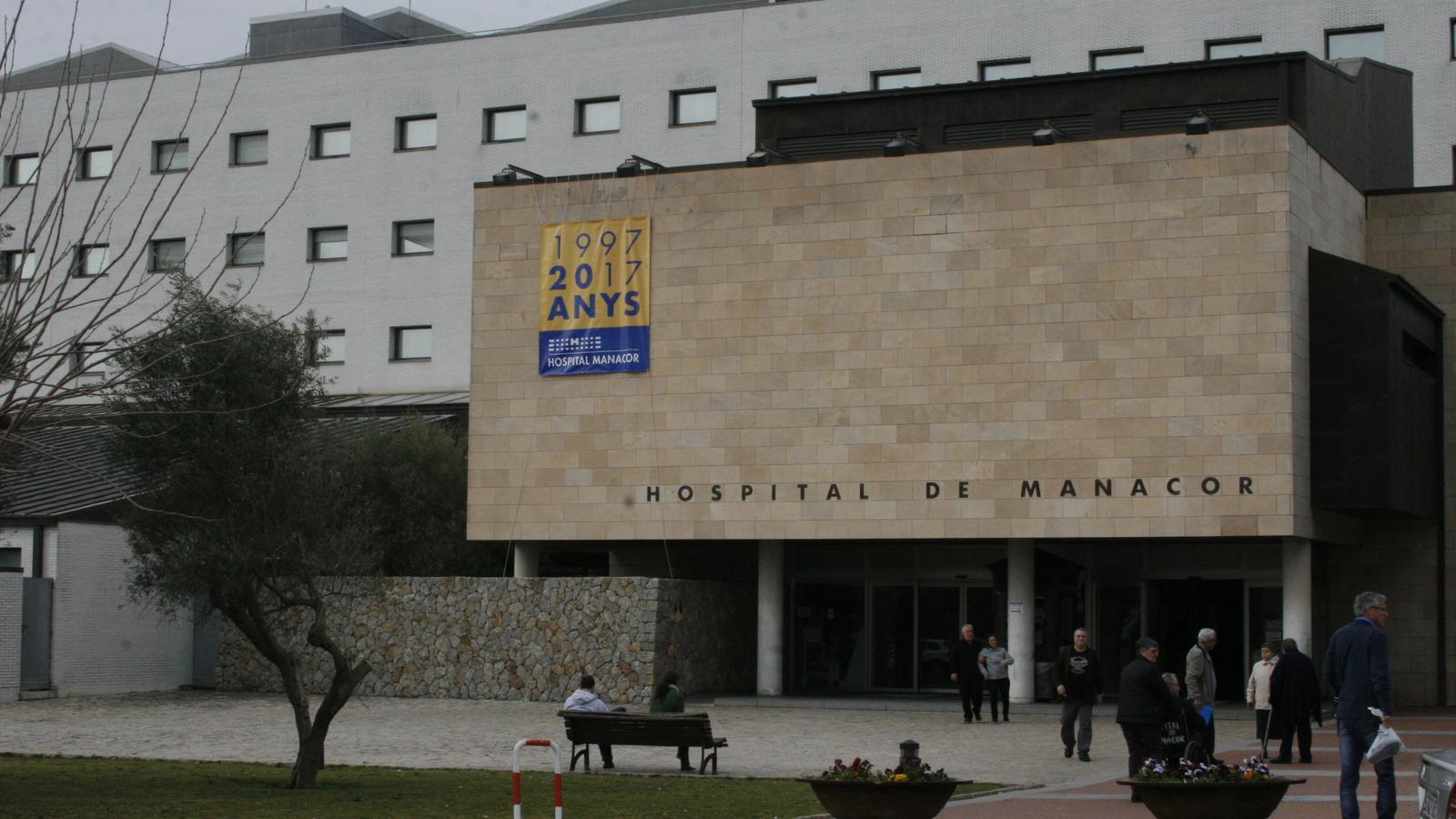 La nova zona d'Urgències se construirà vora l'accés principal a l'hospital.