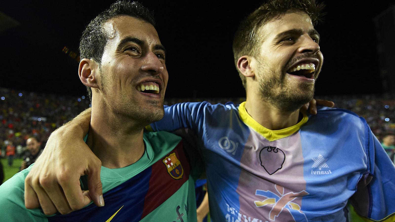La UEFA vol sancionar Busquets amb 5 partits