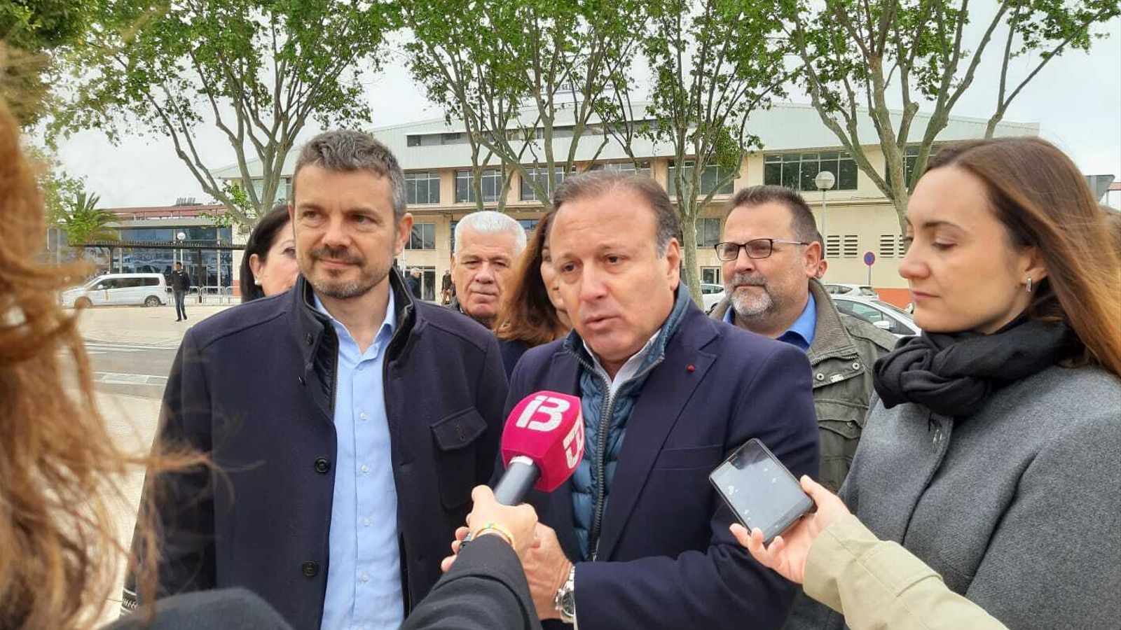 El candidat de Ciutadans Joan Mesquida al Port de Palma